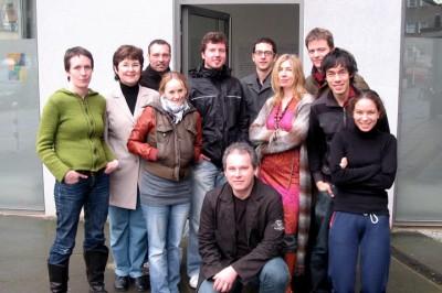 Klassenfoto Berlin März 2008