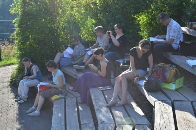 Workshop mit Abschlusskonzert in Altensteig Juli 2014
